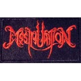 DISSIMULATION logo [red] - PATCH