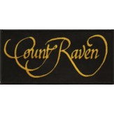COUNT RAVEN logo - patch