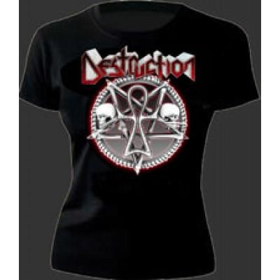 Pentagram Skulls - girlie