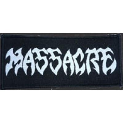 MASSACRE logo - PATCH
