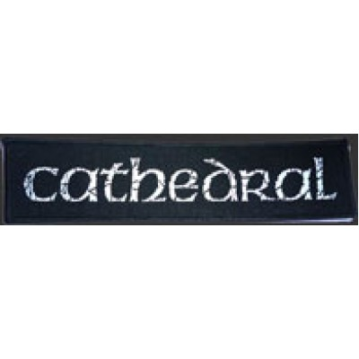 CATHEDRAL logo - PATCH