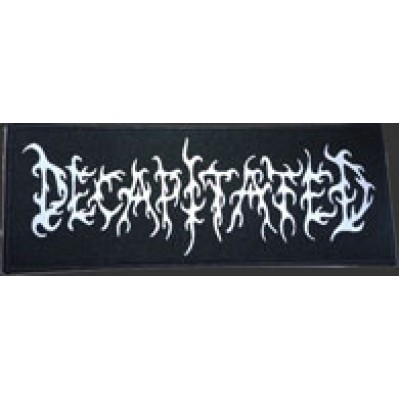 DECAPITATED logo - PATCH