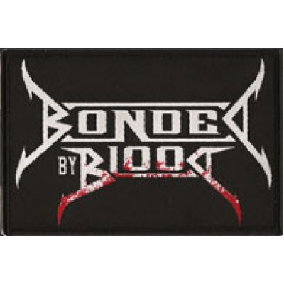 BONDED BY BLOOD logo - PATCH