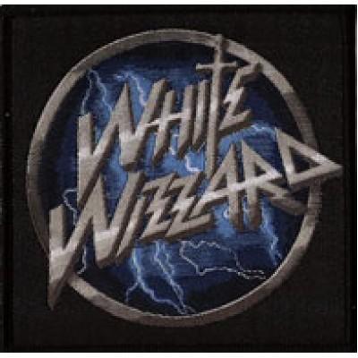 WHITE WIZZARD logo - PATCH
