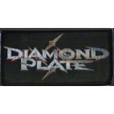 DIAMOND PLATE logo - PATCH