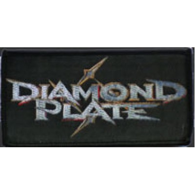 DIAMOND PLATE logo - PATCH